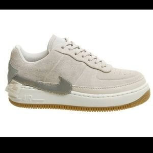 Nike Air Force 1 Jester in Desert Sand Suede US 7